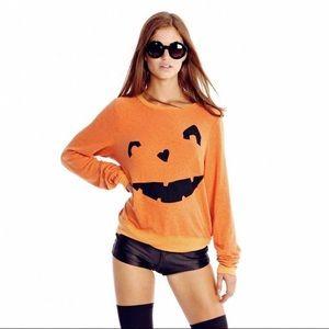 "Wildfox ""Happy as a Pumpkin"" Halloween Jumper"